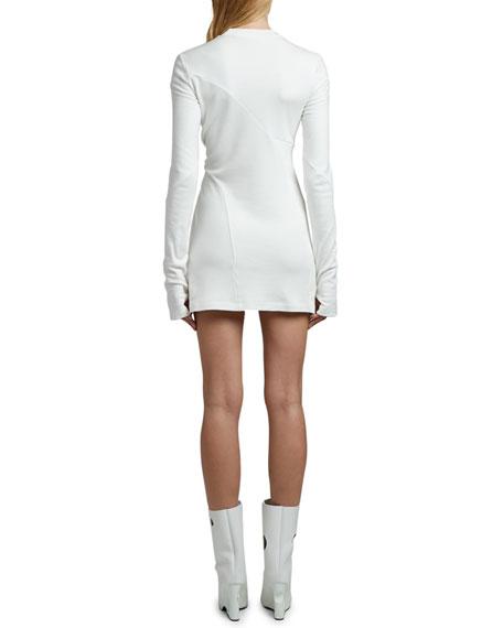 Off-White Maria Carla Wrap Dress