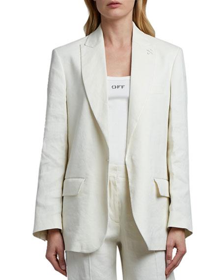 Off-White Tomboy Linen Jacket