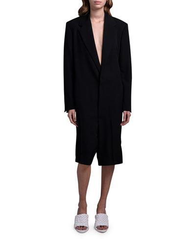 Cotton Blazer Jumpsuit