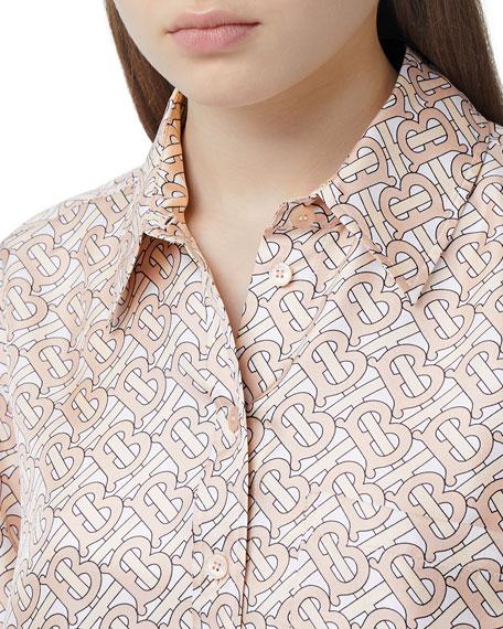 Burberry Juliette Monogram Print Shirt