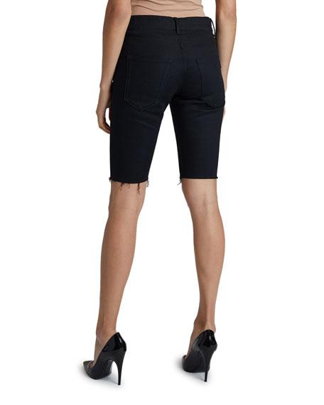 Saint Laurent Knee-Length Denim Shorts