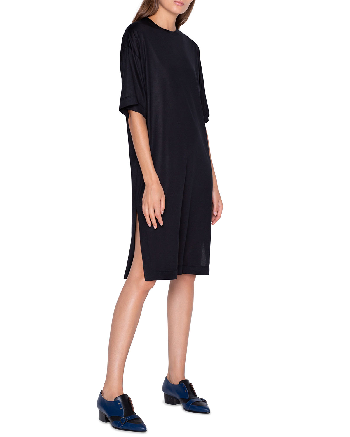 Akris Silk Jersey Knit Dress