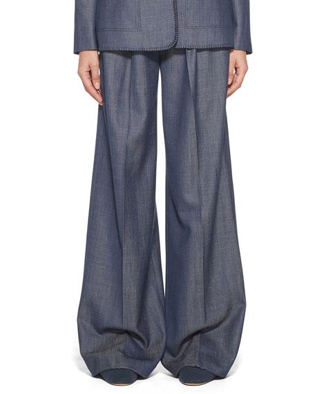Gabriela Hearst Vargas Wool-Silk Pants
