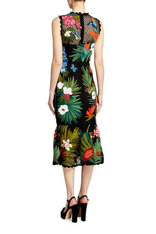 Petite Womens Floral Polka-dot Cap Sleeve Chiffon Layered Dress Size 10 12 14