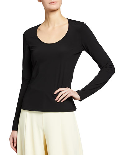Coami Fitted Long-Sleeve T-Shirt