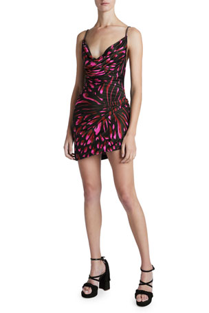 Redemption Butterfly Print Mini Dress