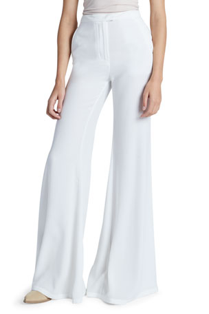 Redemption Satin Flared Pants