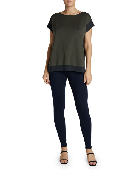 Maison Ullens Cashmere-Silk Cap-Sleeve Sweater