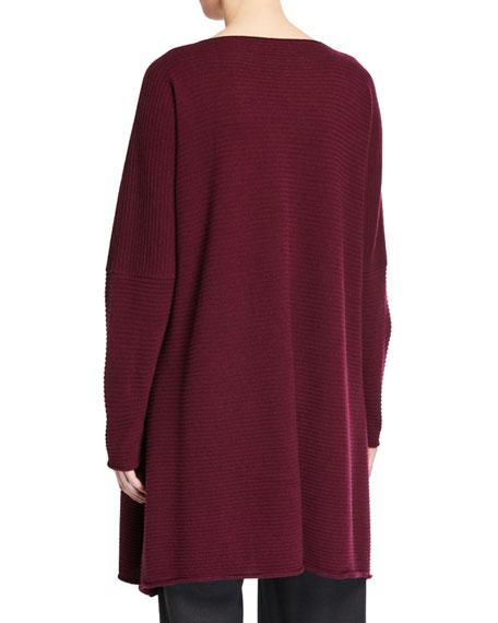 Eskandar Cashmere Square Kaftan Sweater