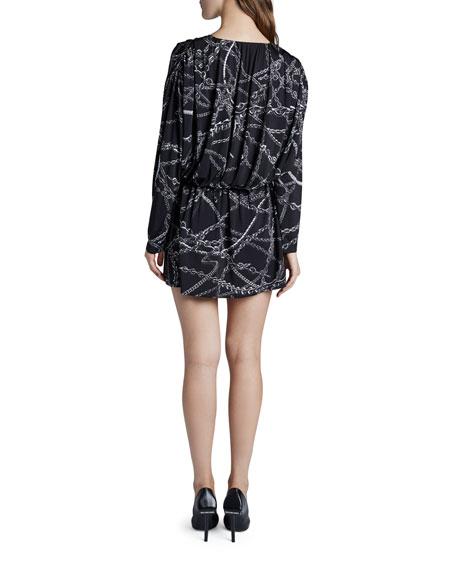 Balenciaga 3D-Chained Mini Dress