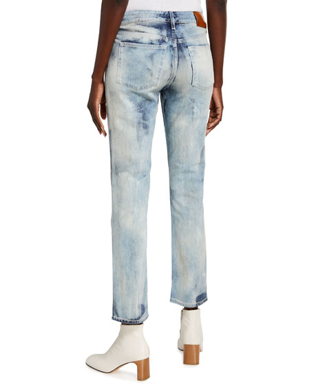 Image 2 of 3: Ralph Lauren Collection 160 Slim-Leg Cropped Jeans