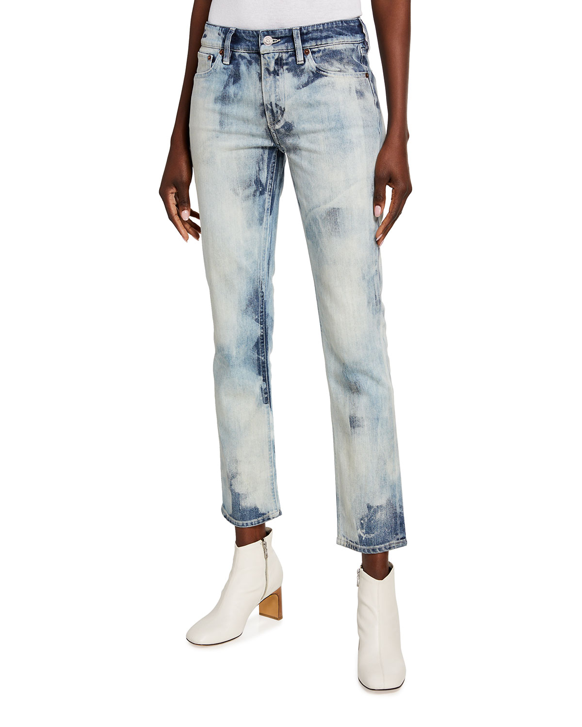 Ralph Lauren Collection 160 Slim-Leg Cropped Jeans