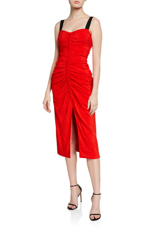 Jason Wu Collection Crushed Suiting Bodycon Dress
