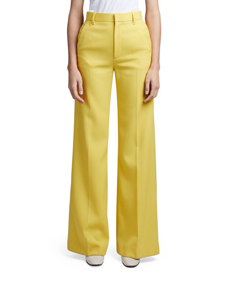 Image 1 of 2: Marc Jacobs (Runway) Wool Flared Pants