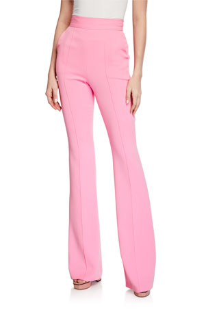 Alex Perry Leighton High-Rise Flare Pants