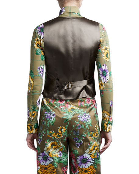 Image 2 of 2: Marc Jacobs (Runway) Silk-Cotton Menswear Vest