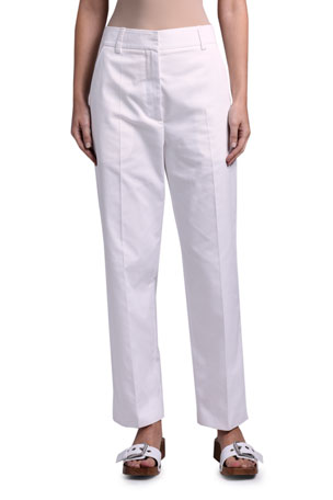 Marni Mid-Rise Straight-Leg Trousers