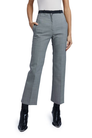Paco Rabanne Wool-Mix Pants