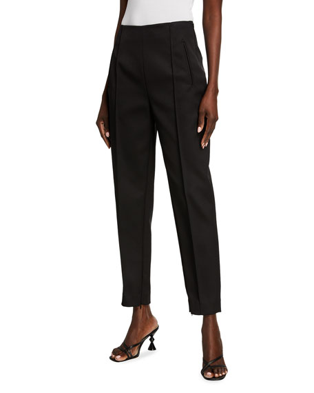 Image 1 of 3: Khaite Priyanka Crepe Crop Pants