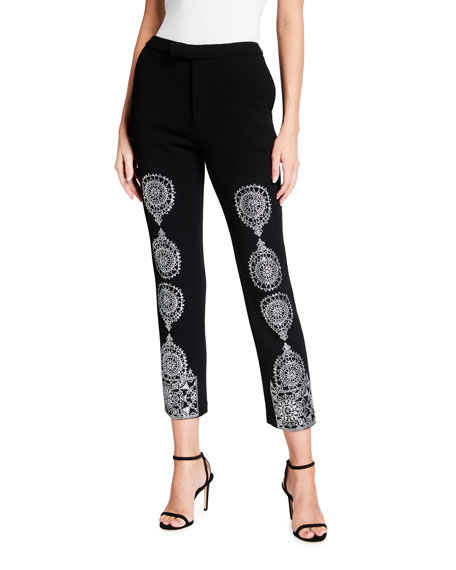 Image 1 of 3: Libertine Gothic Spire Metallic Narrow Pants