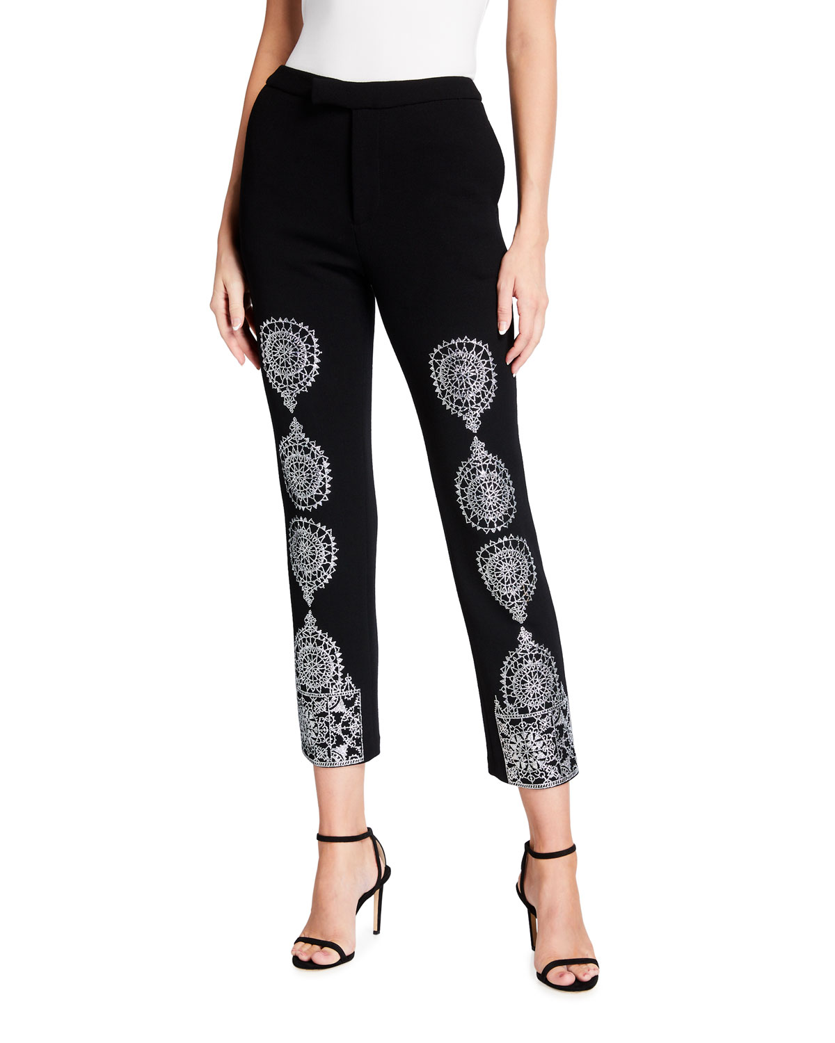 Libertine Gothic Spire Metallic Narrow Pants