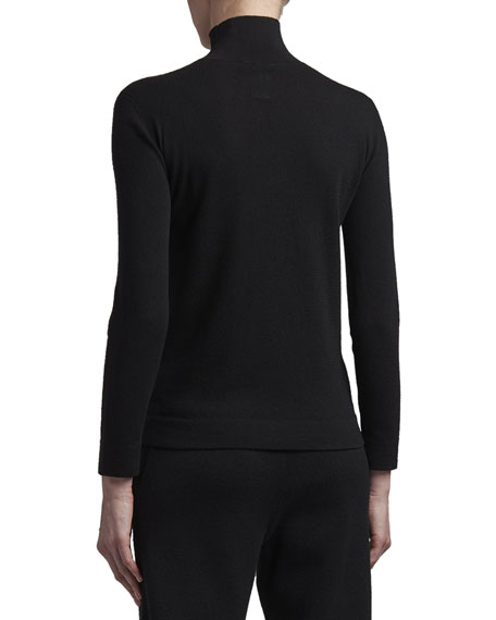 Image 2 of 3: Agnona Eternals Cashmere Turtleneck Sweater with Tubular Finishing