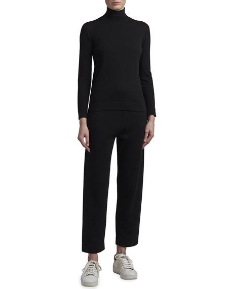Image 3 of 3: Agnona Eternals Cashmere Turtleneck Sweater with Tubular Finishing