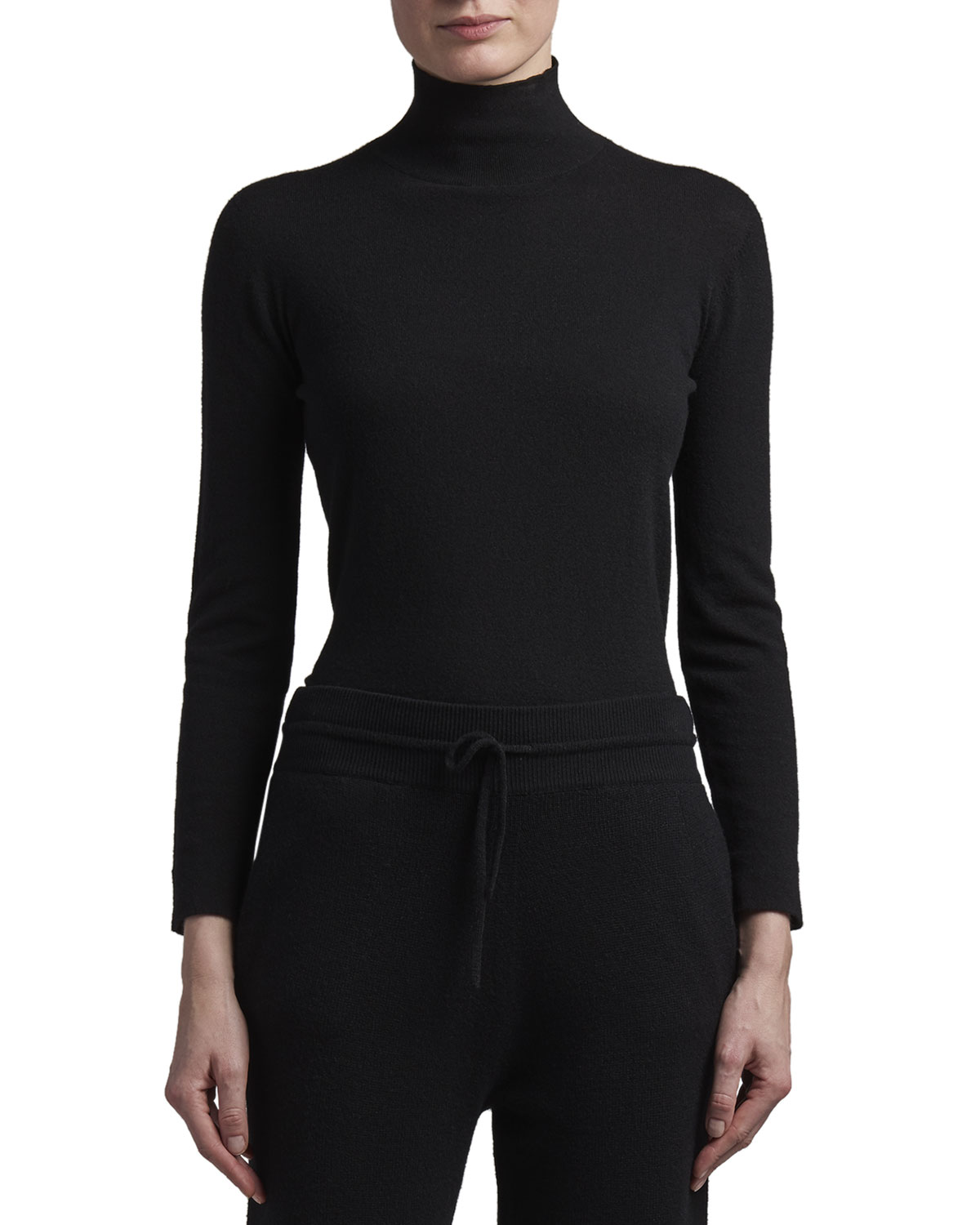 Agnona Eternals Cashmere Turtleneck Sweater with Tubular Finishing
