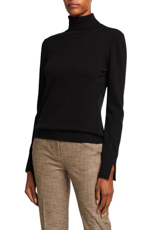 Piazza Sempione Turtleneck Wool Sweater