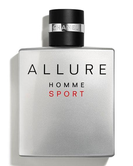 <b>ALLURE HOMME SPORT</b><br> Eau de Toilette Spray, 3.4 oz./ 100 mL