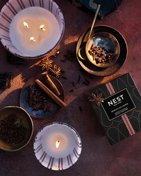 Morrocan Amber Candle