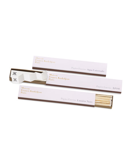 Lumiere Noire Incense Paper