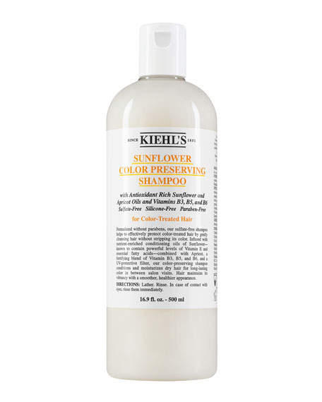 Kiehl's Since 1851 Sunflower Color-Preserving Shampoo, 16.9 oz.