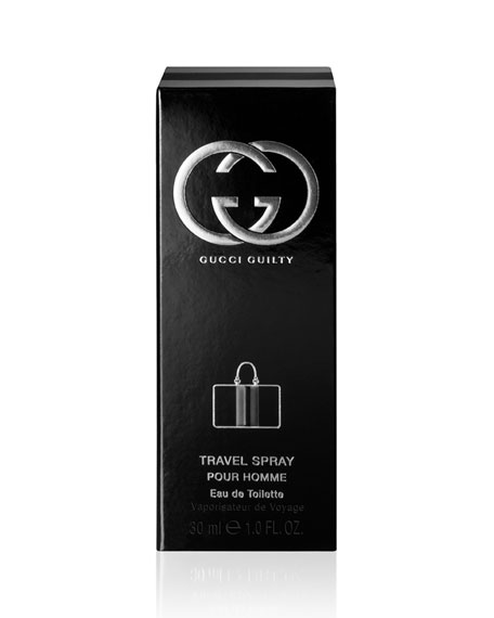 Guilty by Gucci Pour Homme Men's Travel, 1.0 oz./ 30 mL