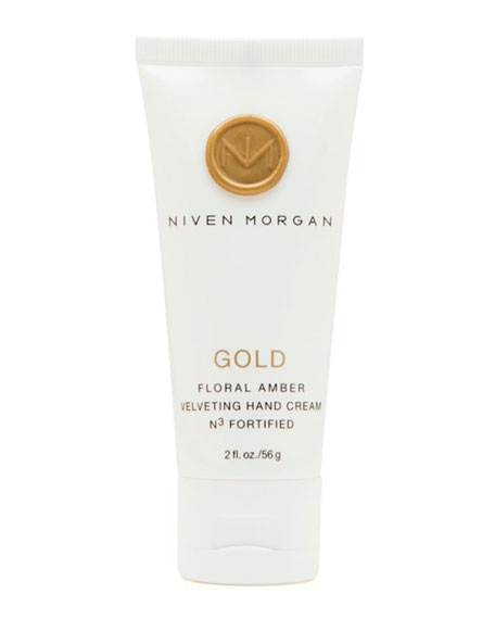 Niven Morgan Gold Hand Cream, 2.0 oz.