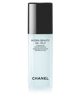 CHANEL HYDRA BEAUTY GEL YEUX<br>Hydration Protection Radiance Eye Gel Pump Bottle 0.5 oz.