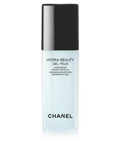 CHANEL HYDRA BEAUTY GEL YEUX<br>Hydration Protection Radiance Eye Gel Pump Bottle 0.5 oz.