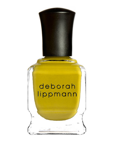 Deborah Lippmann Limited Edition Punk Rock Nail Polish, Iconoclast Yellow