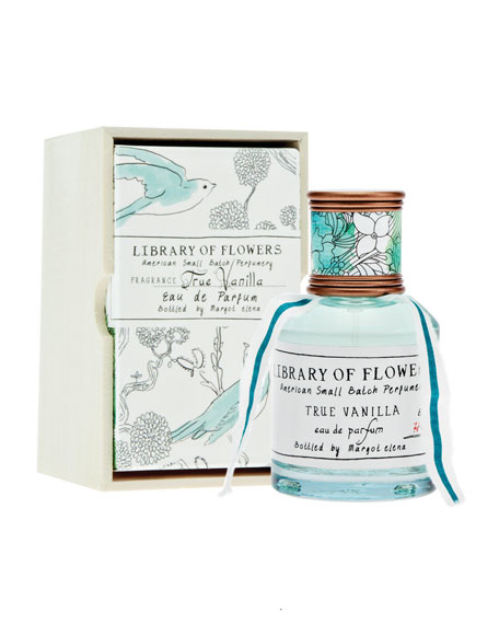 Library of Flowers True Vanilla Eau De Parfum,