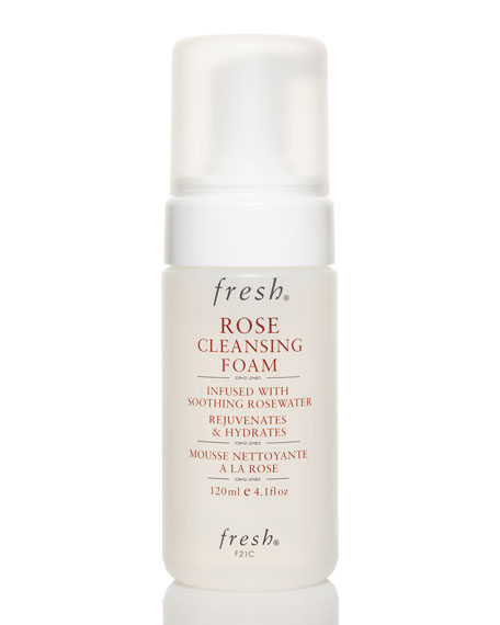 Fresh Rose Cleansing Foam