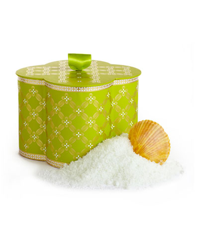 Lemon Verbena Bath Salts in Collectible Box