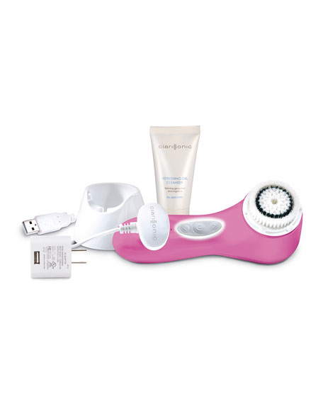 Mia 3, Aria, Three Speed Facial Sonic Cleansing, Pink