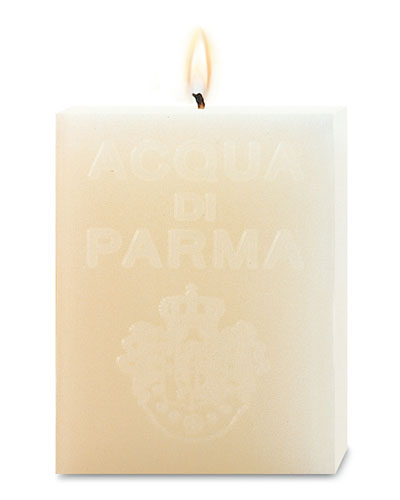 White Cube Candle, Cloves