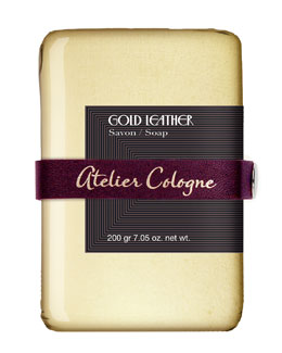 Atelier Cologne Gold Leather Bar Soap