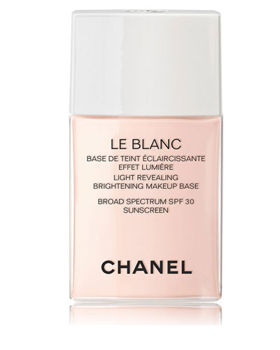 CHANEL <b>LE BLANC</b><br>Light Revealing Brightening Makeup Base SPF 30 1 oz.