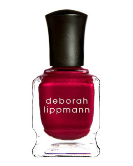 Deborah Lippmann Limited Edition Silk Matteen Nail Polish, Red Silk Boxers