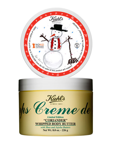 Limited Edition Creme De Corps Coriander Whipped Body Butter, 8oz.