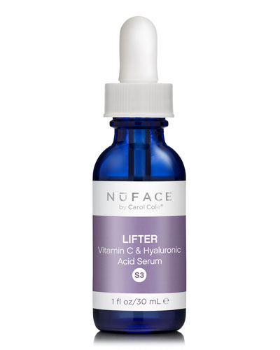 NuFace S3 Lifter Vitamin C & Hyaluronic Acid Serum 1oz
