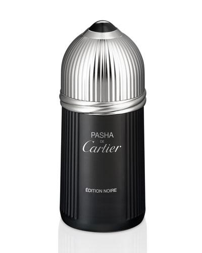 Pasha de Cartier Edition Noire Eau de Toilette, 3.3oz