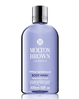 Molton Brown White Sandalwood Body Wash, 10oz.